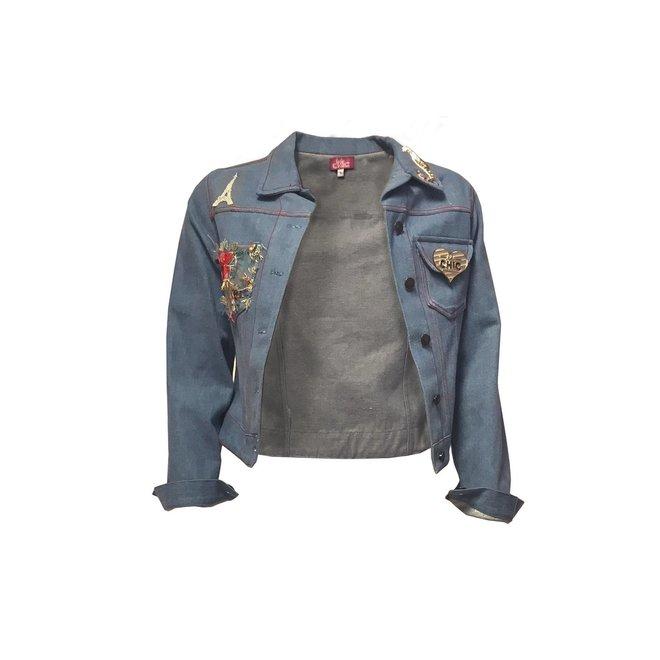 TUTU CHIC - jeans jacket - palais