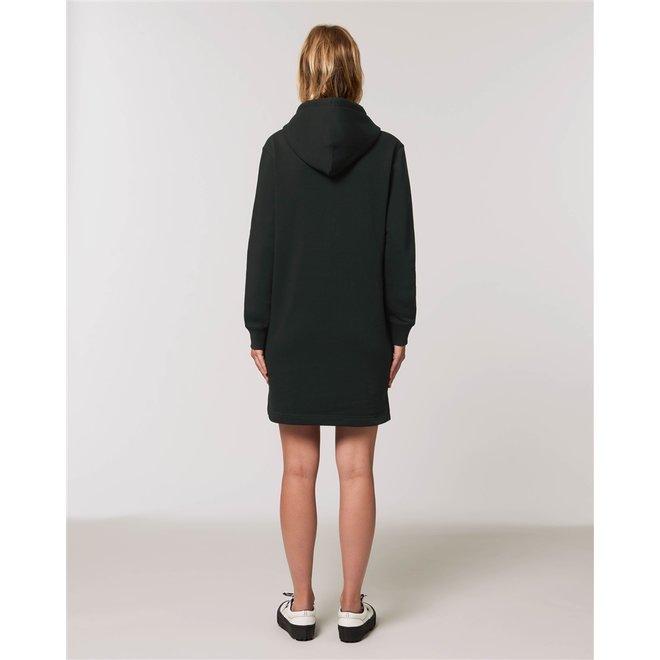 CDKN_Women - hello sweaterjurk zwart
