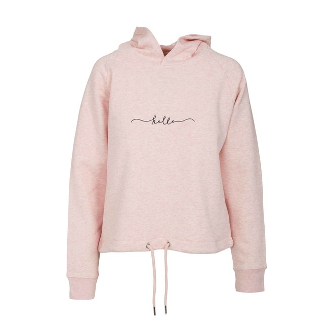 CDKN_Women - hello - korte roze trui