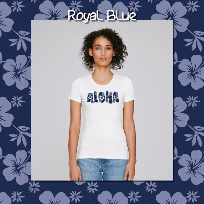 ALOHA - Happy Flower - t shirt - women