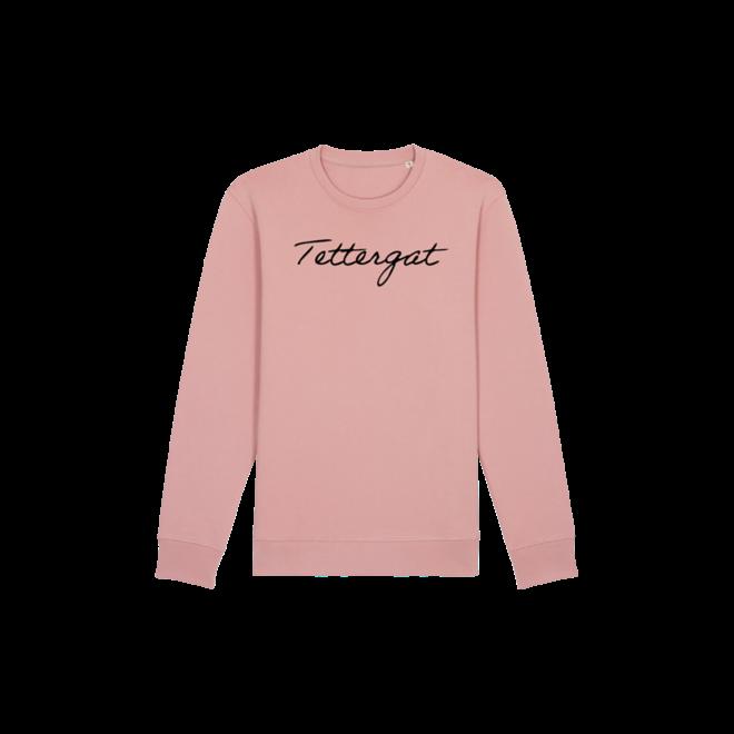 tettergat - roze trui