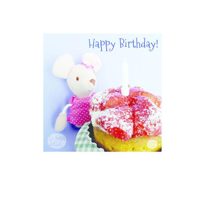 Little mouse girl birthday cake