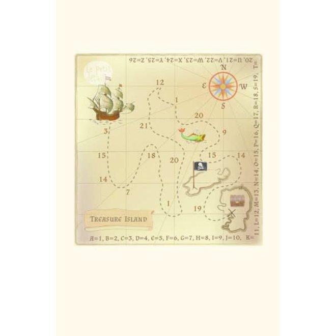 LE PETIT DÉTAIL - postkaart - pirate congratulations