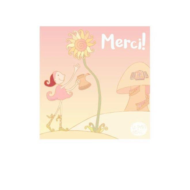 LE PETIT DÉTAIL - postkaart - fairy merci