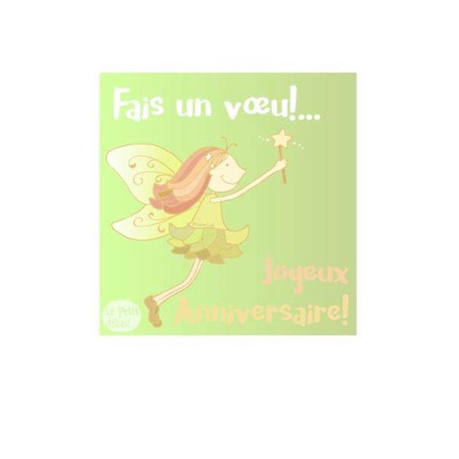 LE PETIT DÉTAIL - postkaart - fais un voeu