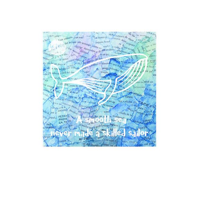 LE PETIT DÉTAIL - postkaart - walvis