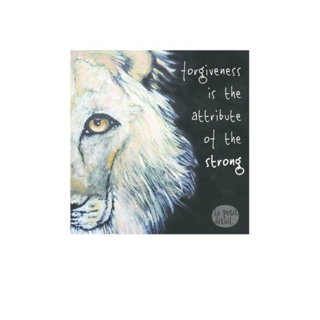 LE PETIT DÉTAIL - post card - lion