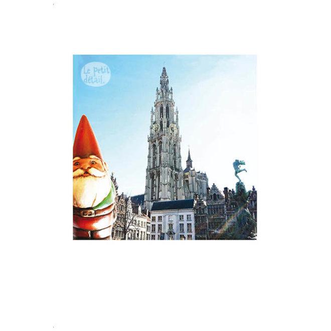 LE PETIT DÉTAIL - postkaart - amelie gnomo 1