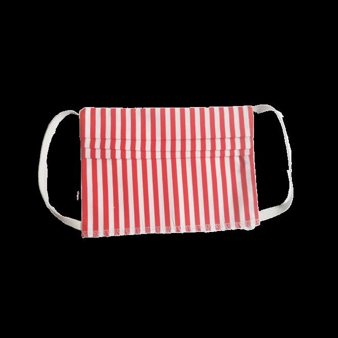 ATELIER SABRA -  children's mouth mask - red stripe