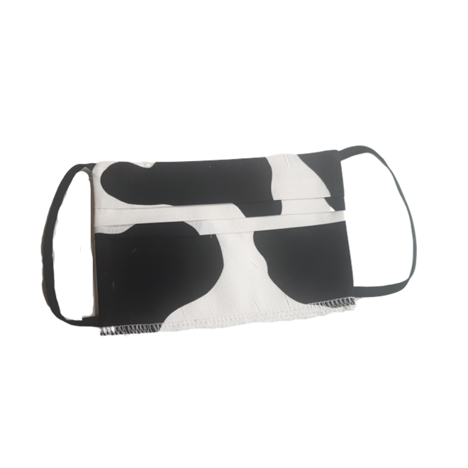 ATELIER SABRA - adult mouth mask - cow print