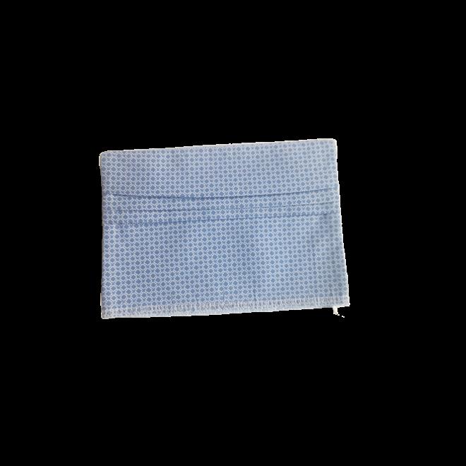 ATELIER SABRA - children's mouth mask - blue dots
