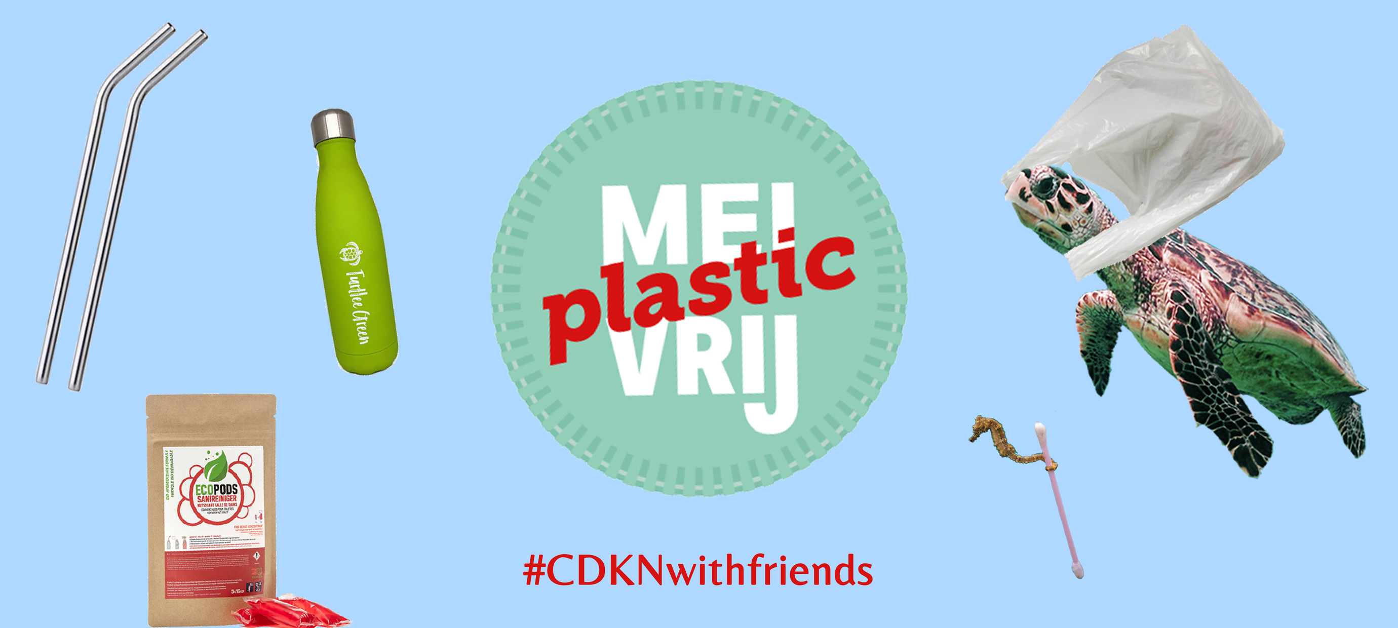 Mei Plasticvrij: 3 tips