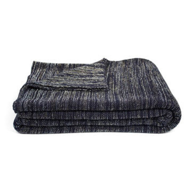 Dôme deco - plaid alan, knitted