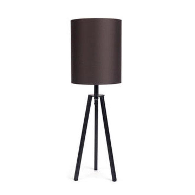 Dôme deco - tablelamp fis brown