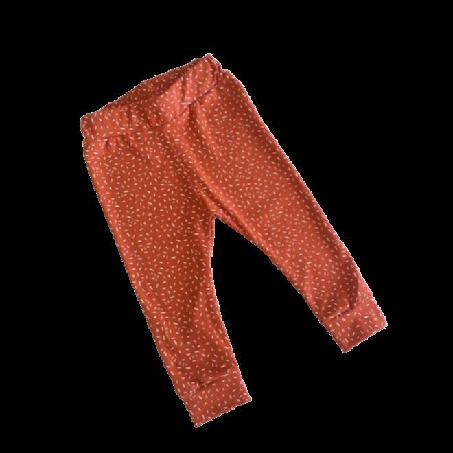 STAY CUTE - leggings - sprinkles rust