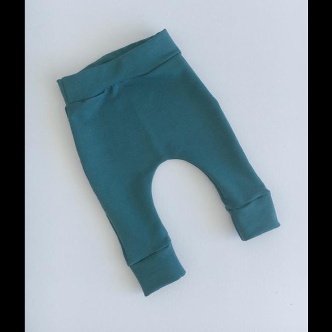 STAY CUTE - harem pants - plain petrol