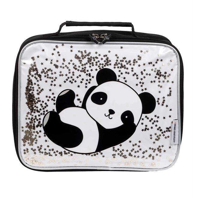 VISJES EN CO - LLC cooler bag - panda glitter