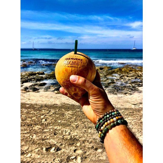 CASCADE - armband - madagascar agate