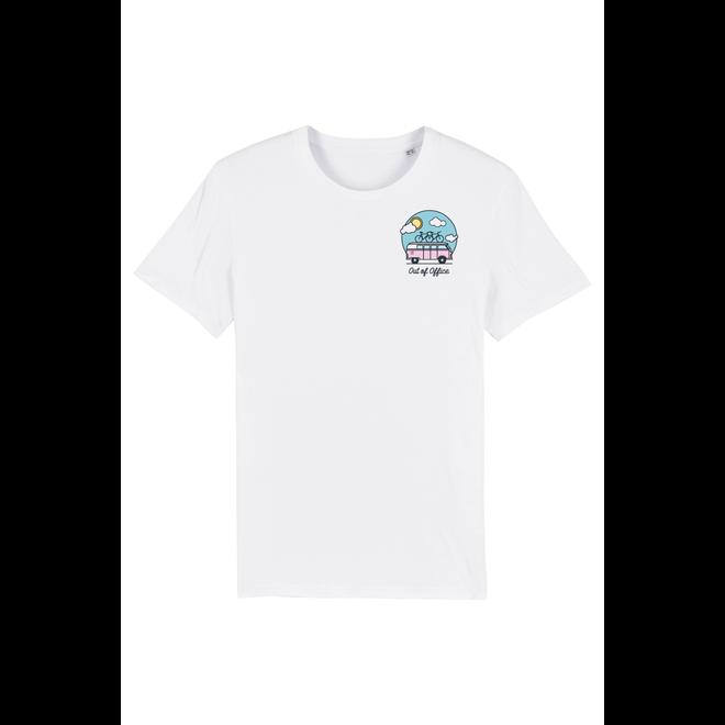 Joh Clothing - Out of office borstlogo (Full Color) - Unisex T Shirt