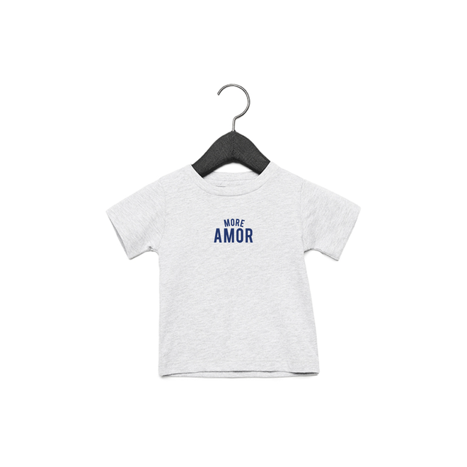Joh Clothing - More amor baby (Blue) - Baby's T shirt