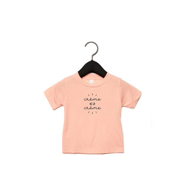 Joh Clothing - Creme de la creme 2.0 baby (Black) - Baby's T shirt