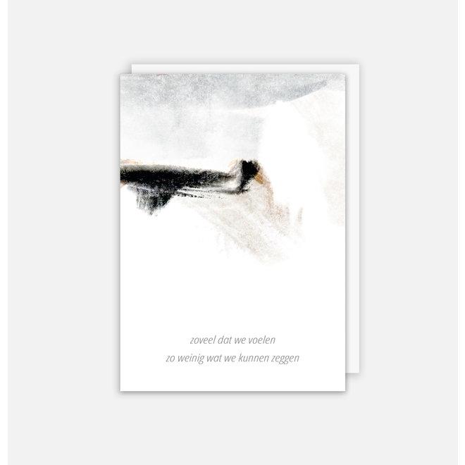 SOMAJ - rouwkaart - Zoveel voelen