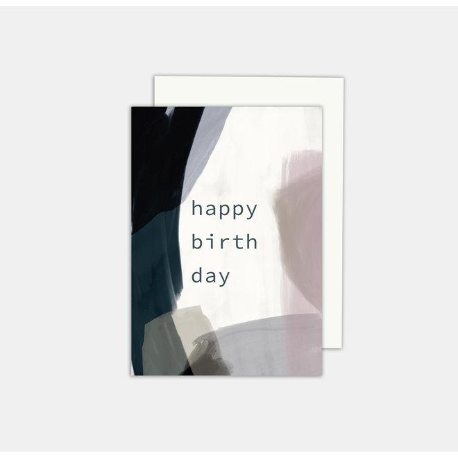 SOMAJ - wenskaart - Happy birthday
