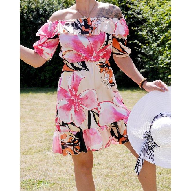 La Croisette-robe fleurie