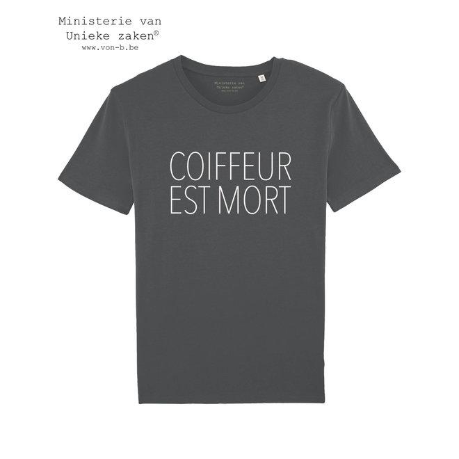 Coiffeur Est Mort T-shirt Man