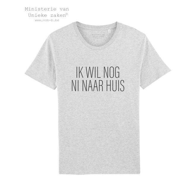 MVUZ-Ik wil nog ni naar huis - T-shirt man