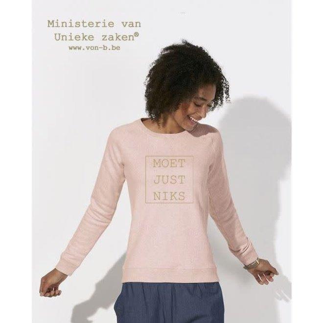 MVUZ-Moet Just Niks Sweater (V)
