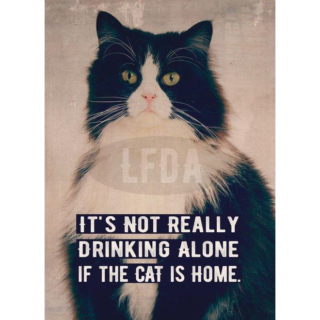 Postkaart Cat