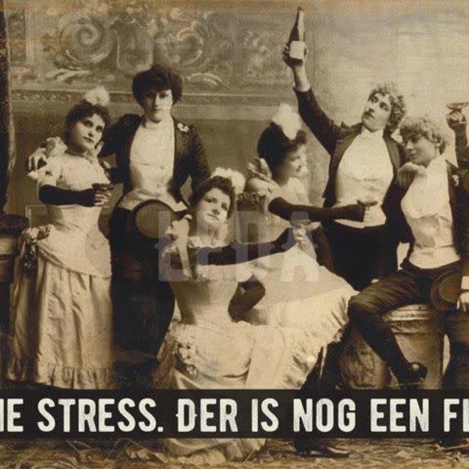 Postkaart Gene Stress