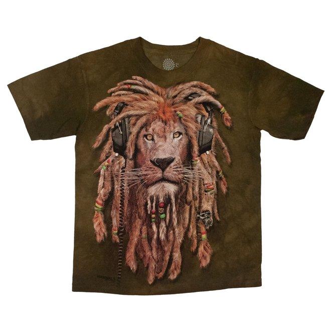 Crea Natura T-Shirt DJ Jahman Lion Adult