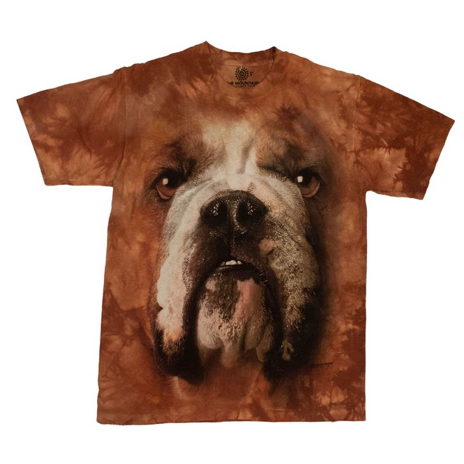 Crea Natura T-Shirt Bulldog Face Adult