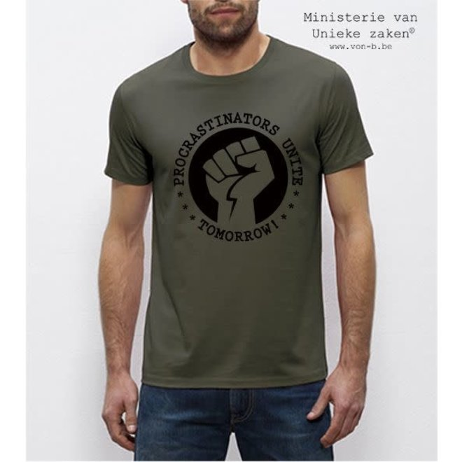 T-shirt man - Procrastinators Unite