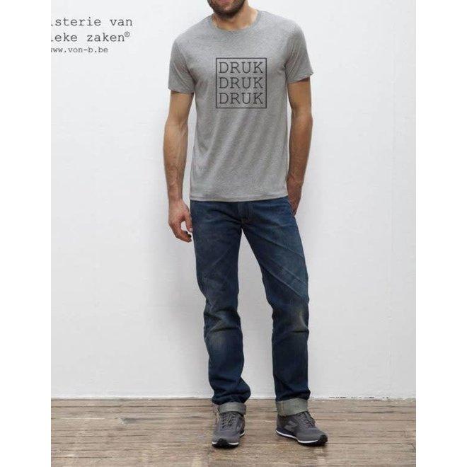 T-shirt Man Druk Druk Druk