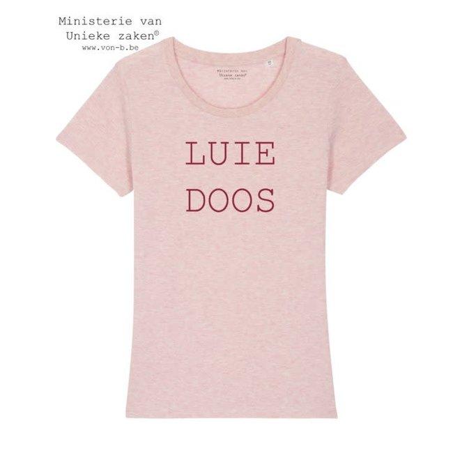 T-shirt vrouw - Luie doos
