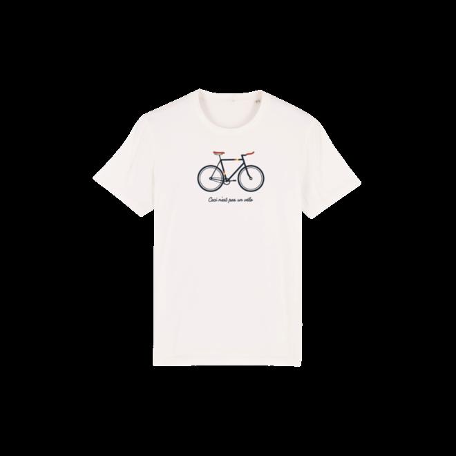 JOH CLOTHING - Ceci n'est pas un vélo - t shirt