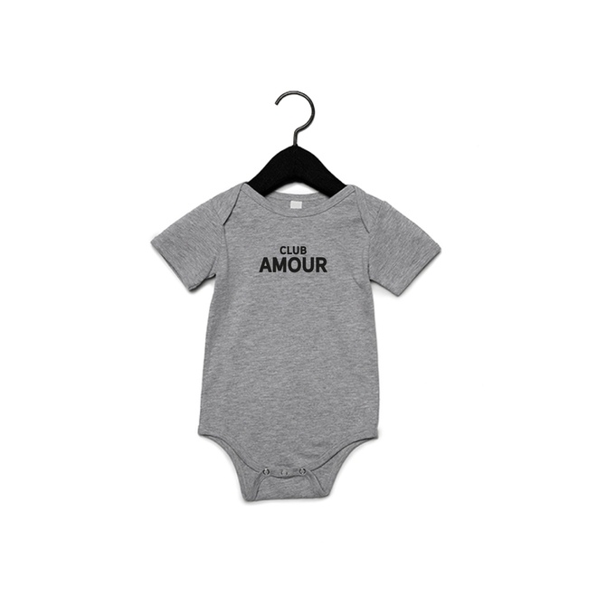 Joh Clothing - Club amour baby (Black) - Baby's Body