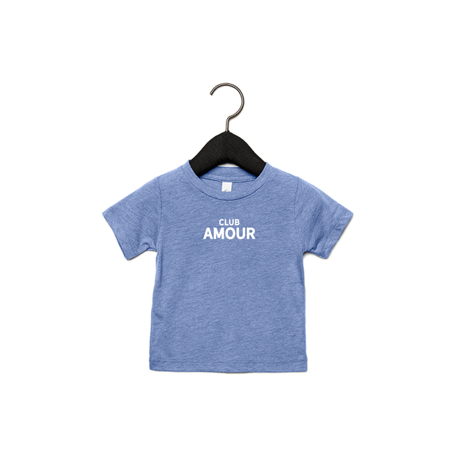 Joh Clothing - Club amour baby (White) - Baby's T shirt