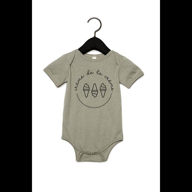 Joh Clothing - Creme de la creme 2.0 baby (Black) - Baby's Body