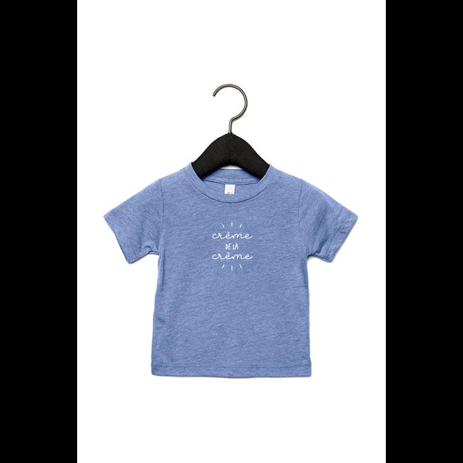 Creme de la creme baby (White) - Baby's T shirt