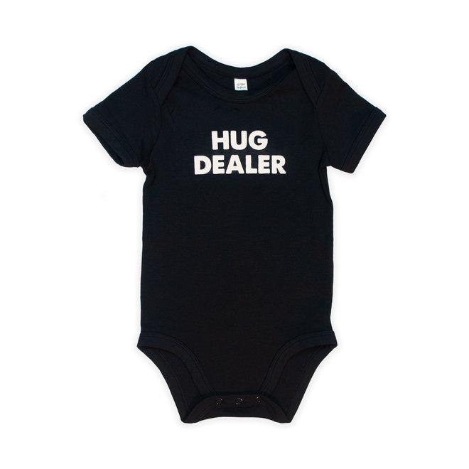 CDKN_baby - Zwarte baby bodysuit short sleeves - hug dealer