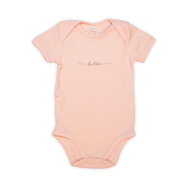 babybody zacht roze - hello