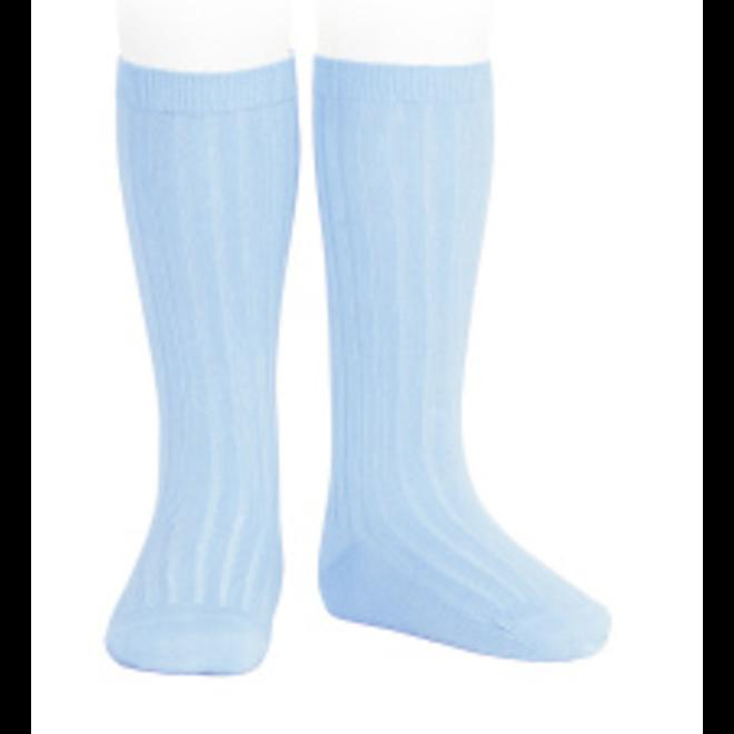 kniekousen lichtblauw