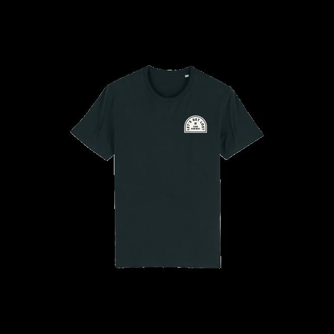 Let's get lost patch - Unisex T Shirt