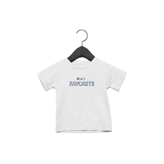 Joh Clothing - Mom's favorite baby (Blue) - Baby's T shirt