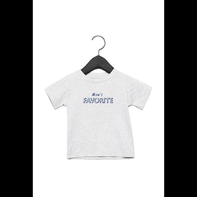 Mom's favorite baby (Blue) - Baby's T shirt