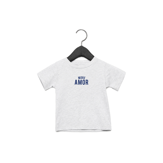 More amor baby (Blue) - Baby's T shirt